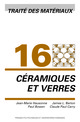 Céramiques et verres (TM volume 16)  De Jean-Marie Haussonne, James L. Barton, Paul Bowen et Claude Paul Carry - PPUR