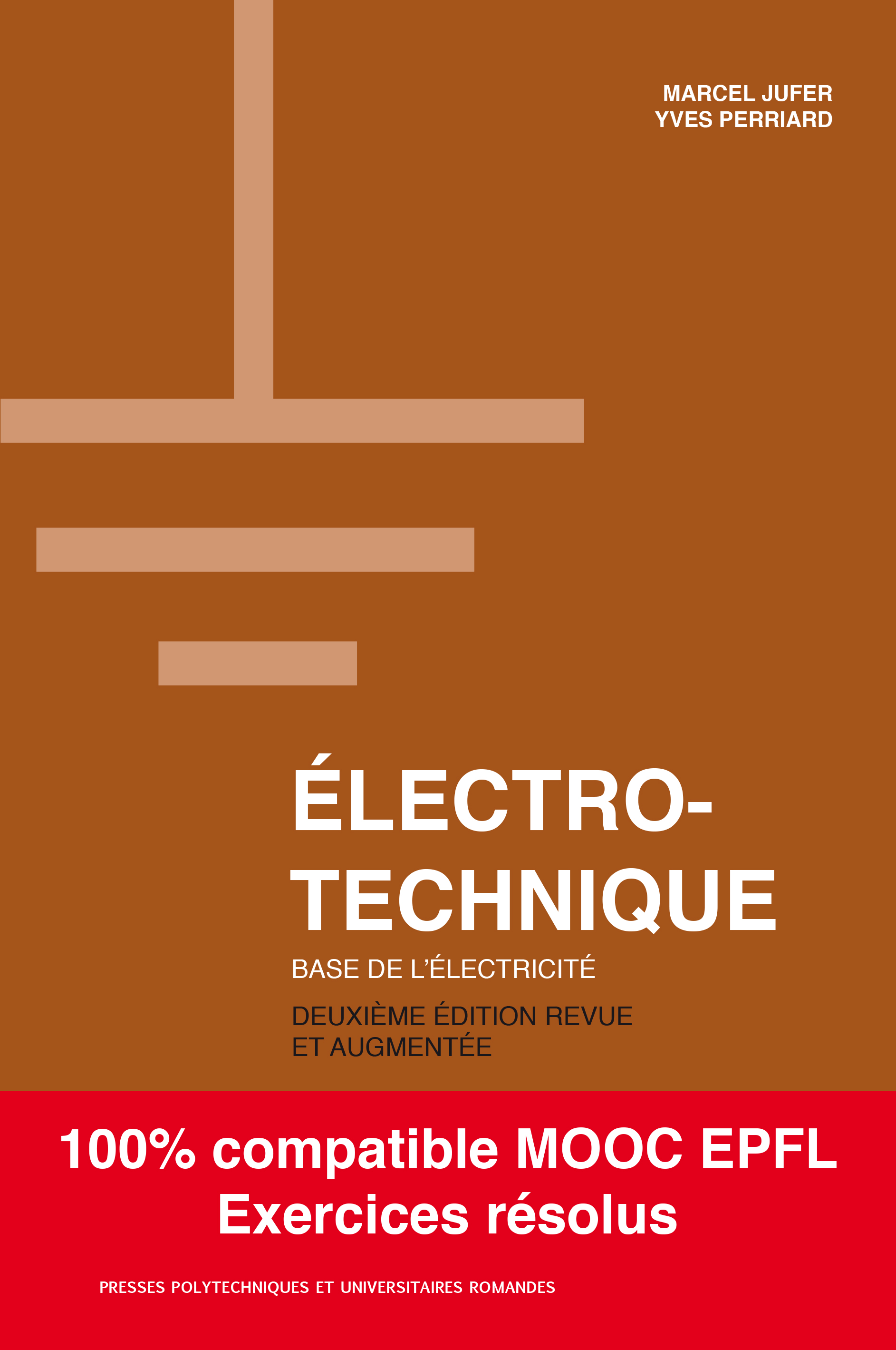 Electrotechnique  By Marcel Jufer and Yves Perriard - PPUR