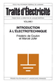Introduction à l'électrotechnique (TE volume I)  De Fréderic de Coulon et Marc Juffer - PPUR