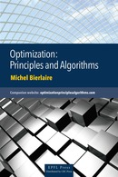 Optimization: Principles and Algorithms  De Michel Bierlaire - EPFL Press