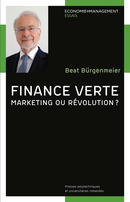 Finance verte  De Beat Bürgenmeier - PPUR