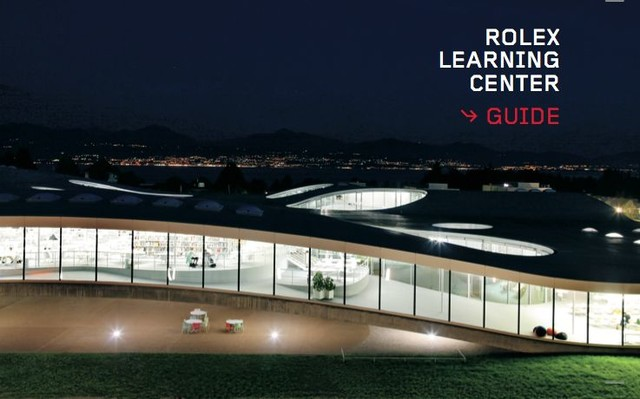 Rolex Learning Center - Guide  - Francesco Della Casa, Jacques Perret - EPFL Press