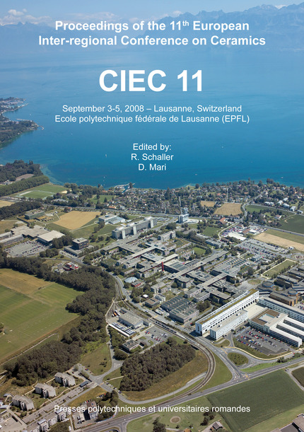 CIEC 11  - Danielle Mari, Robert Schaller - EPFL Press