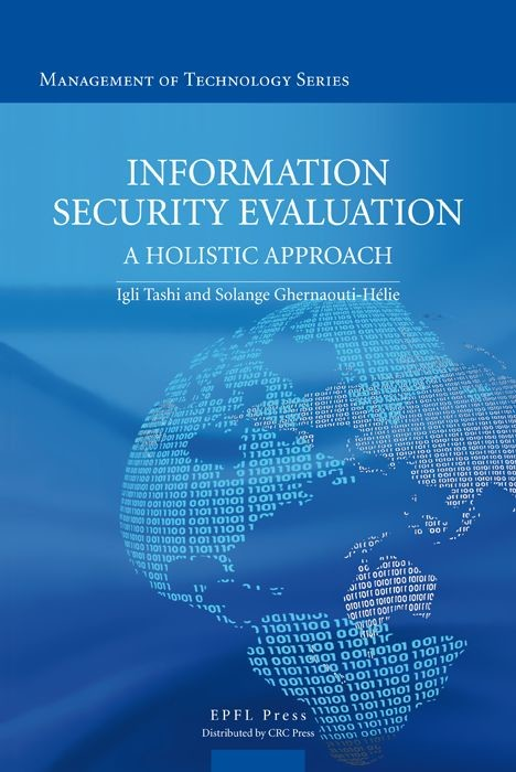 Information Security Evaluation  - Igli Tashi, Solange Ghernaouti - EPFL Press
