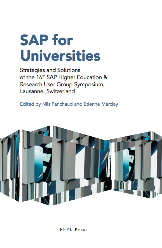 SAP for Universities  -  - EPFL Press