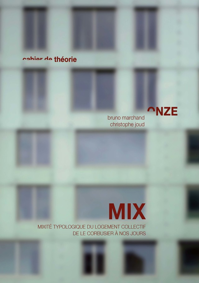 MIX  - Bruno Marchand, Christophe Joud - EPFL Press